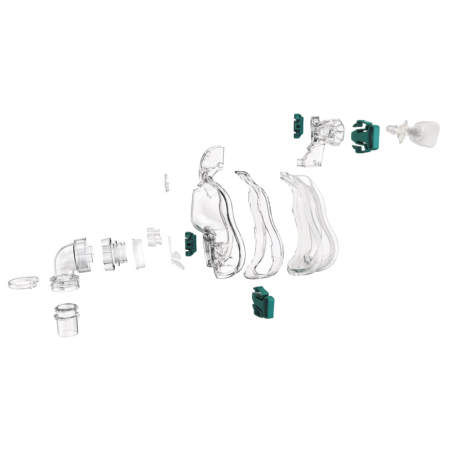 ResMed Ultra Mirage Full Face CPAP Mask Frame System - Large Shallow