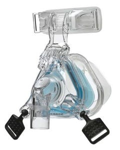 Respironics ComfortGel Blue Nasal CPAP Mask Assembly Kit