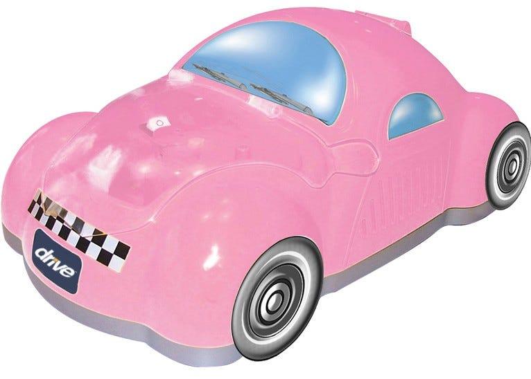 Piston Powered Checker Nebulizer, Pink
