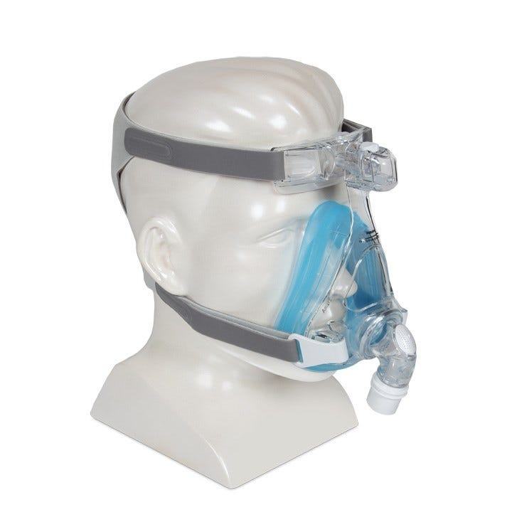 Respironics Amara Gel Full Face CPAP Mask and Headgear