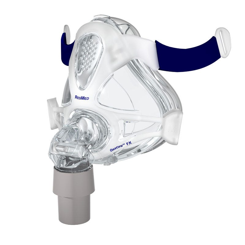 ResMed Quattro FX Full Face Mask Frame System-with Cushion