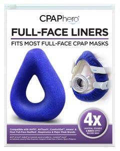 Reusable Full Face Mask Liners - 4 Pack