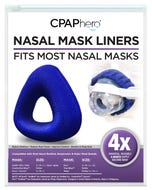 Reusable Nasal Mask Liners - 4 Pack