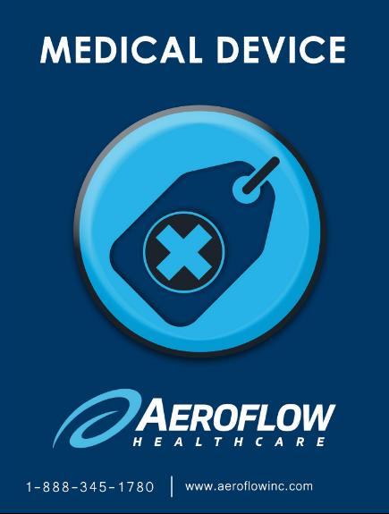 Aeroflow Sleep Luggage Tag