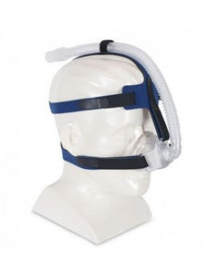 iQ® Blue Non-Vented Nasal Mask with StableFit Headgear