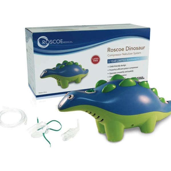 Dinosaur Pediatric Nebulizer System