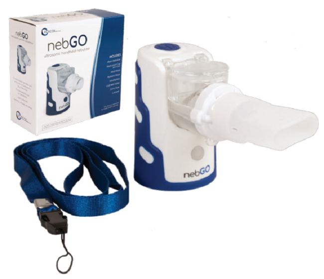NebGO Portable Handheld Nebulizer