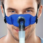 SleepWeaver Elan Soft Cloth Nasal Mask - with Headgear