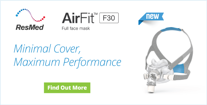 Introducing AirFit F20 Full Face CPAP Mask