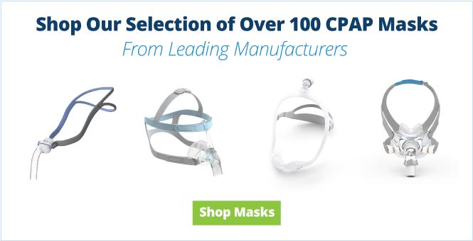 CPAP Masks - Full Face, Nasal Pillow, Oral and more
