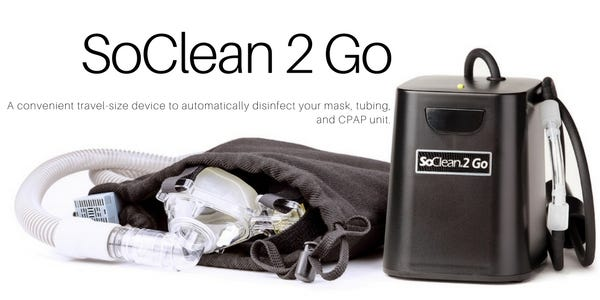 SoClean 2 Go CPAP equipment cleaner
