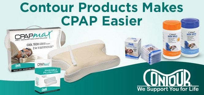 Contour Health CPAP Comfort Accessories