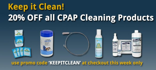 CPAP Cleaning Sale
