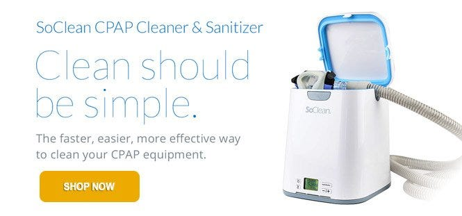 SoClean - CPAP equipment cleaner