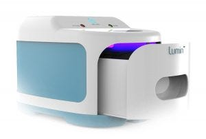 The Lumin will instantly clean your CPAP supplies