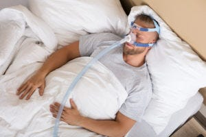 CPAP treats sleep apnea for more energy and weight loss