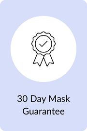 30 Day Mask Guarantee Ribbon with Checkmark