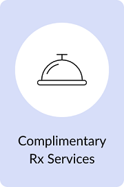 Complimentary RX Service Bell